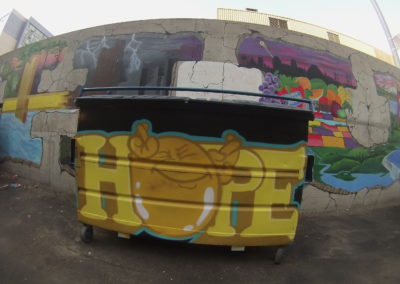 Wide Open Walls – Dumpster Graffiti