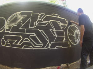 Sac Street Art Mural Jam 'SICK Space'