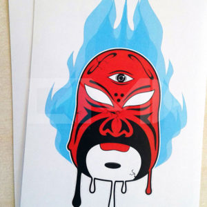 Chinese Opera mask sticker