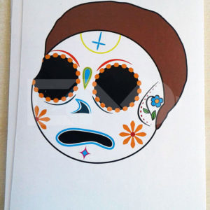 Muerte Smith cartoon sticker