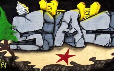 SAC mural for sale 6ft x 6ft