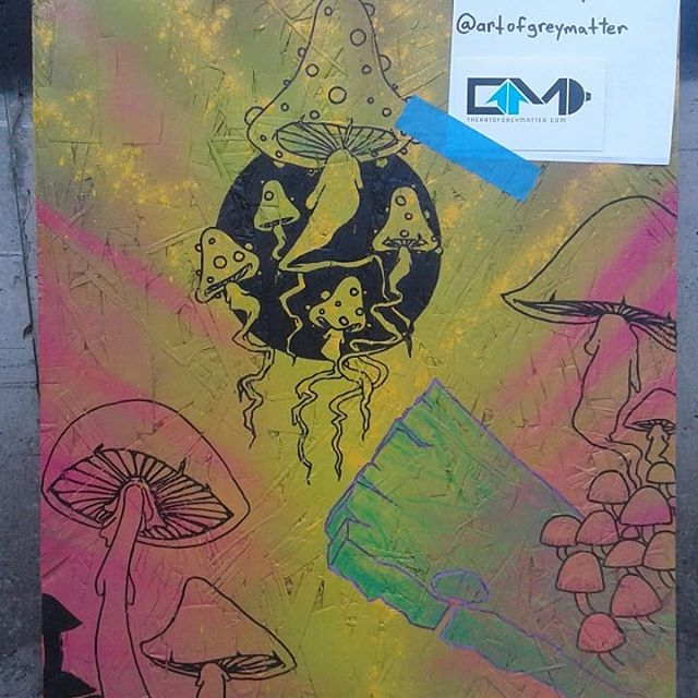 FREE ART! Mushroom art drop 2 of 2